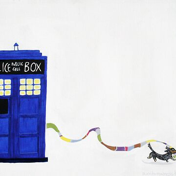 The Dachshunds Have the Phone Box by burritomadness