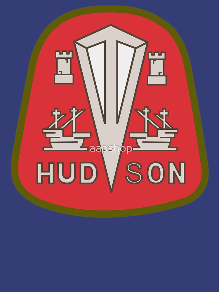 Hudson classic automobiles red logo remake de aapshop