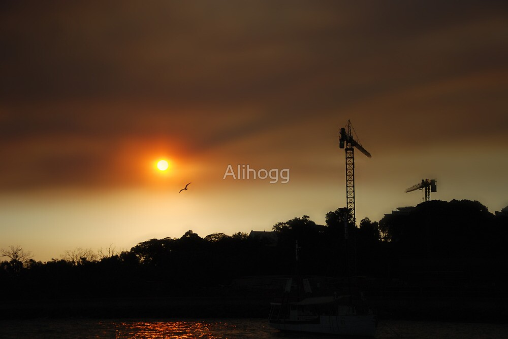 Sunset Haze by Alihogg