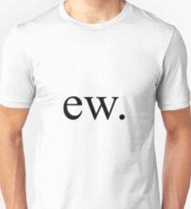 Camiseta unisex ew.