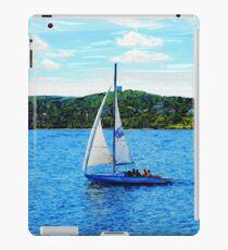 Sailboats In The Summer iPad Case/Skin