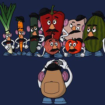 Potato family by jasesa