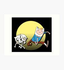 Tintin time Art Print