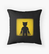 Shadow - Adamantium Throw Pillow