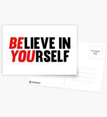 Believe in Yourself Postkarten