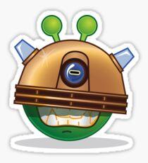 'Exterminate' Alien Sticker