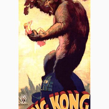 King Kong movie poster by caldayjd