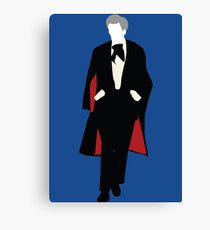 The Third Doctor - Doctor Who - Jon Pertwee Canvas Print