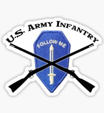 U.S. Infantry - Follow Me Sticker