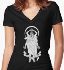 LIL B THE BASED GOD (RARE SHIRT) Women's Fitted V-Neck T-Shirt