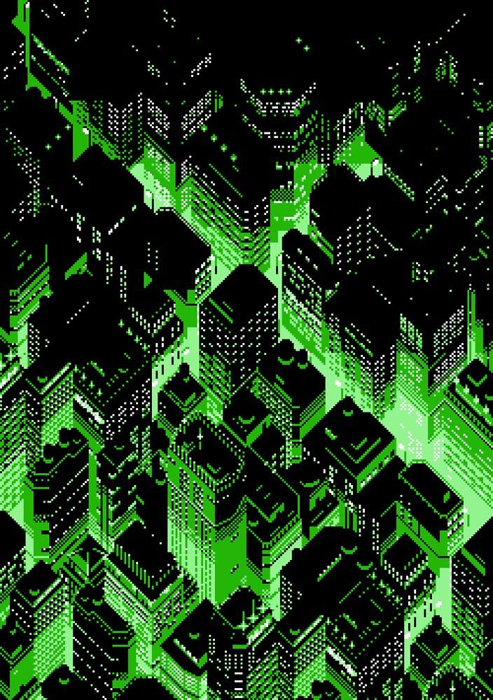 Cr0ssR0ads (Green) by vgjunk