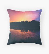 Lake Lackawanna Throw Pillow