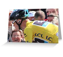 Chris Froome (4), Tour de France 2013 Greeting Card