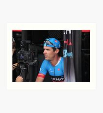 David Millar, Garmin-Sharp Art Print
