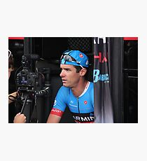 David Millar, Garmin-Sharp Photographic Print