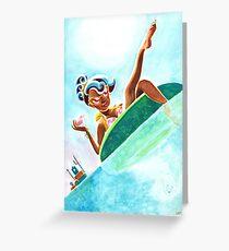 Ice Free Arctic Summer Greeting Card
