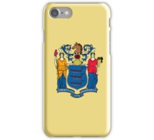 Smartphone Case - State Flag of New Jersey - Horizontal iPhone Case/Skin