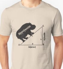 Hippotenuse Triangle Unisex T-Shirt