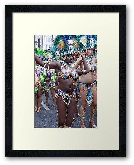 Notting Hill carnival in london by Keith Larby