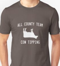 All County Cow Tipping Unisex T-Shirt