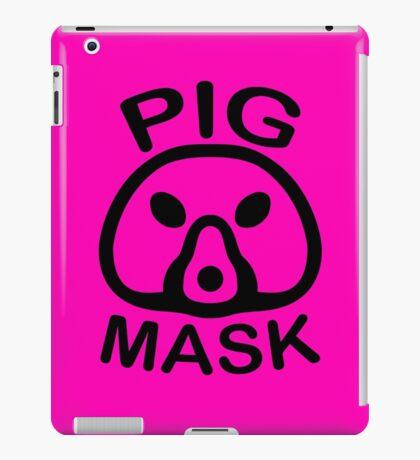 Pigmask (Black) iPad Case/Skin