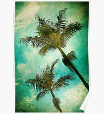 Swaying Palms Poster