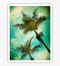 Swaying Palms Sticker