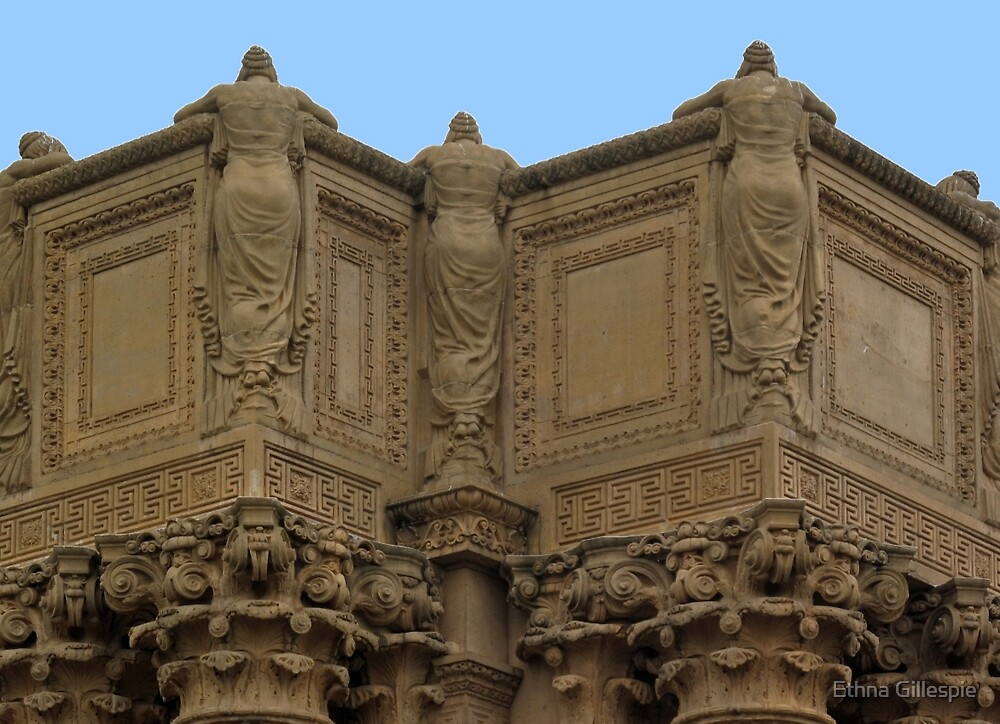 Palace of Fine Arts  by Ethna Gillespie