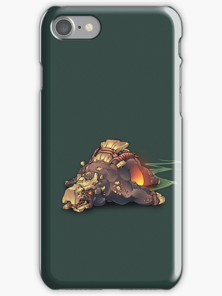 Gorge Iphone case by UnknownWorlds
