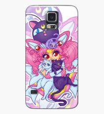Sailor Mini Moon & Space Kitties Case/Skin for Samsung Galaxy