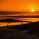 South Beach Sunset (EH) by Ray Warren