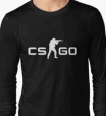CSGO - White Long Sleeve T-Shirt