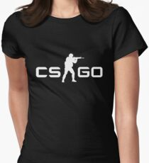 CSGO - White Women's Fitted T-Shirt