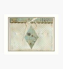 Embossed Paper Bag  Art Print