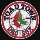 Toad Town Bro Sox by PureOfArt