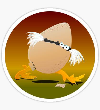 Precocious Chicken VRS2 Sticker