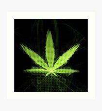 Mary Jane (Weed) Art Print