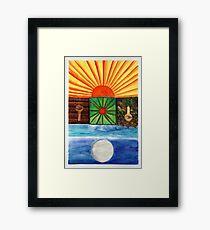 Ancient Love Framed Print