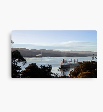 Bell Bay at Work Canvas Print