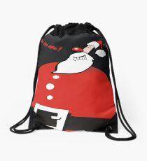 santa Drawstring Bag