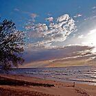 Lake Michigan Sunset by gharris