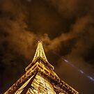 Eiffel Tower at Night by Nick Jermy