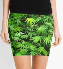 Marijuana (Weed) Mini Skirt