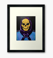 Skeletor Painting Framed Print