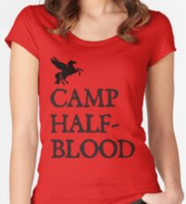 Camp Half-Blood Women's Fitted Scoop T-Shirt