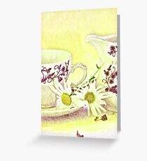 Cup still life Greeting Card