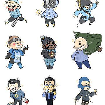 Blu Team!! by DarkSkittyPower