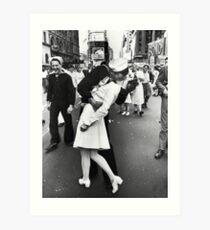 Times Square V/J-Day Kiss Art Print