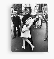 Times Square V/J-Day Kiss Canvas Print