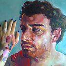 filip portrait, in progress by Natasa Ristic
